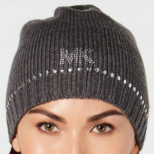 Michael Kors Logo studded hat